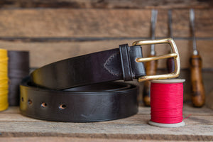 West End Bridle Leather Belt
