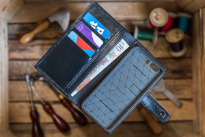 Leather Mobile Phone Wallet