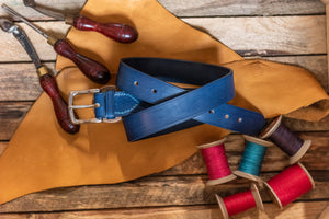 West End English Bridle Leather Handmade Belt