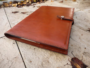 Handmade A4 Leather Bound Journal