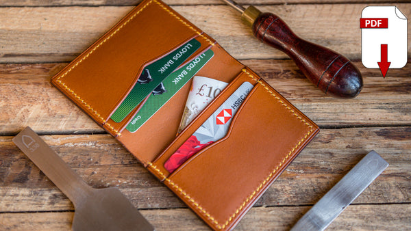 folding card wallet pattern pack