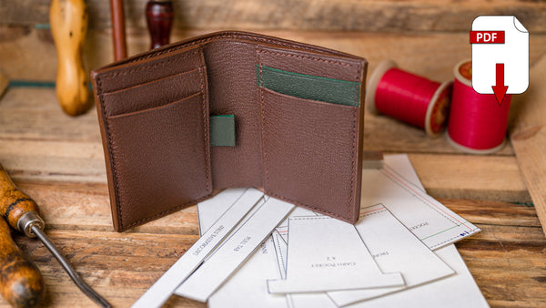 Vertical Bi-fold Wallet