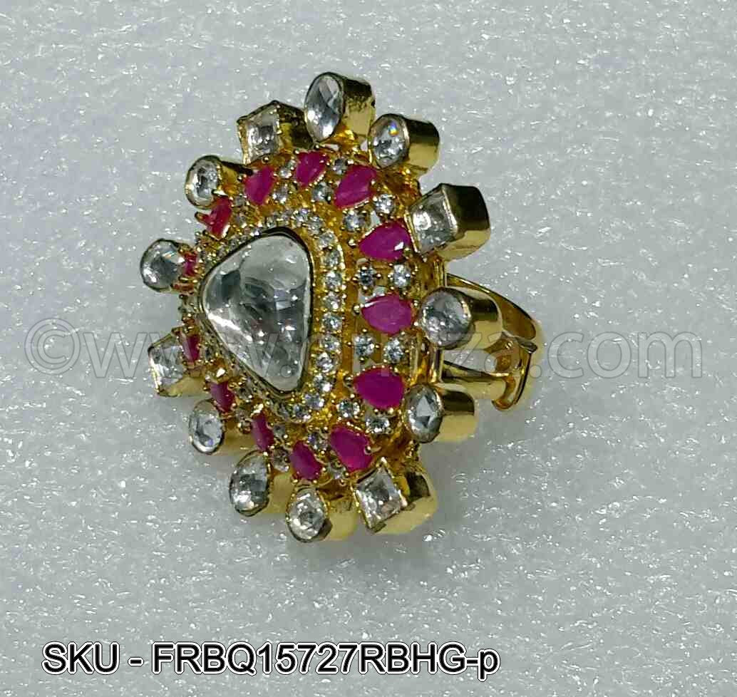 Ruby Red Boutique Designer Finger Ring