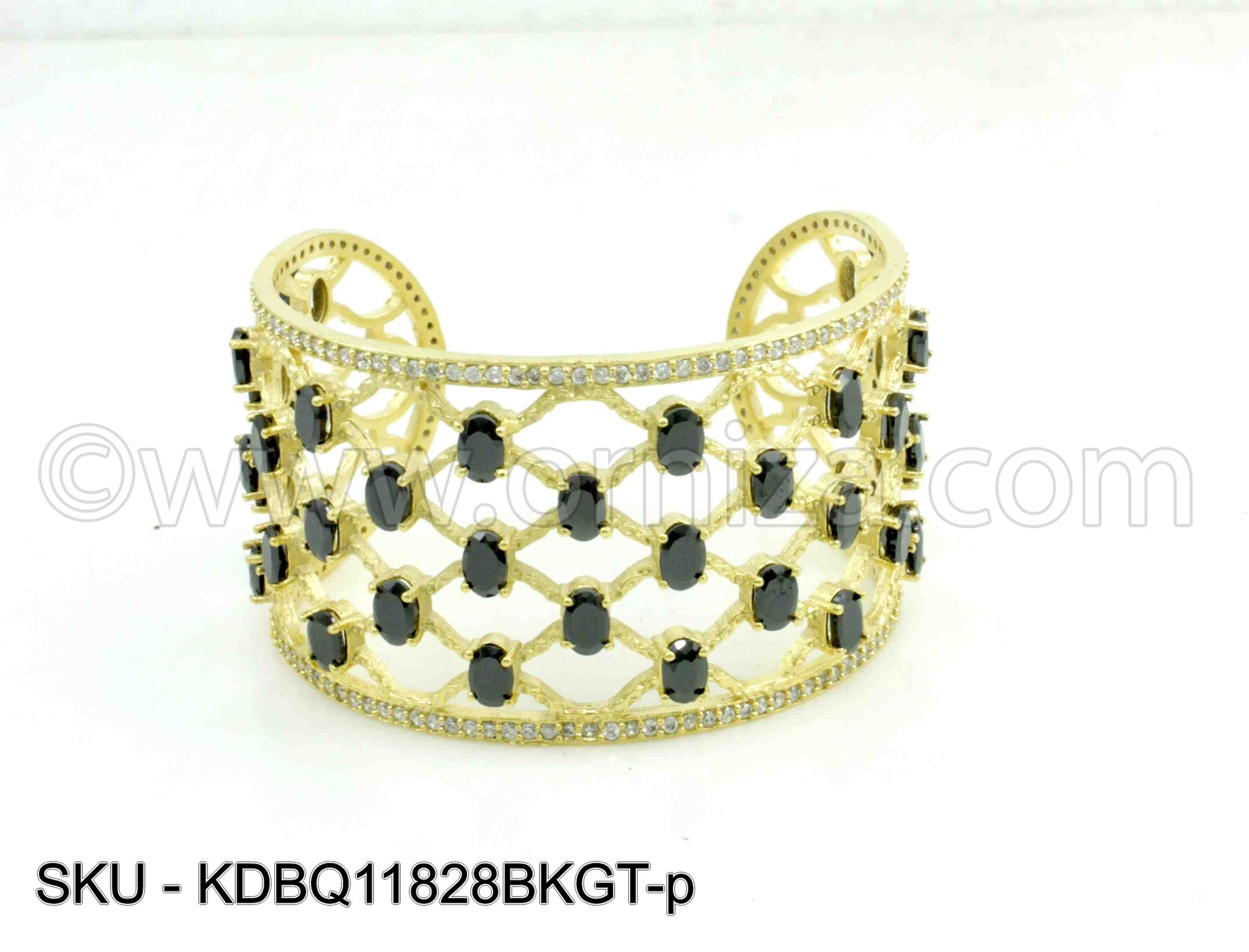 Black Boutique Designer Kada