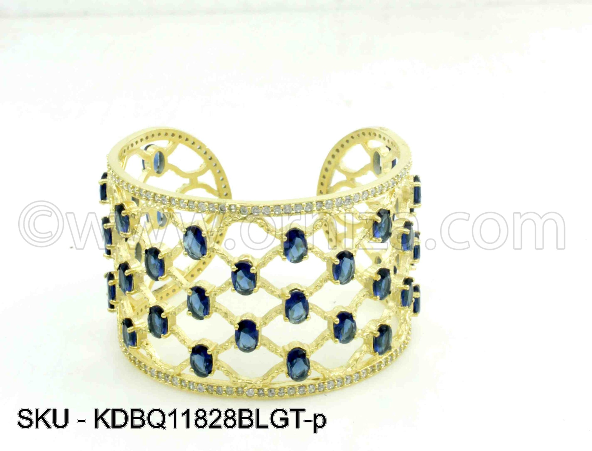 Blue Boutique Designer Kada