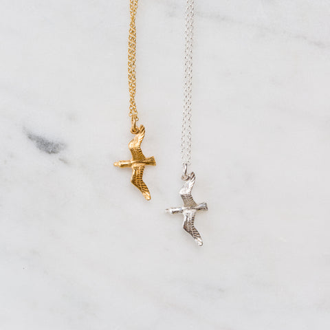 Gull necklace