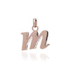 Personalised lower case initial necklace    (all letters available)