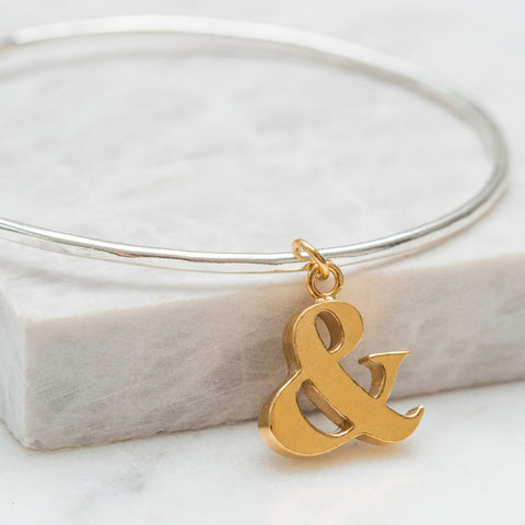 Ampersand Bangle