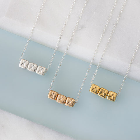 'xxx' necklace
