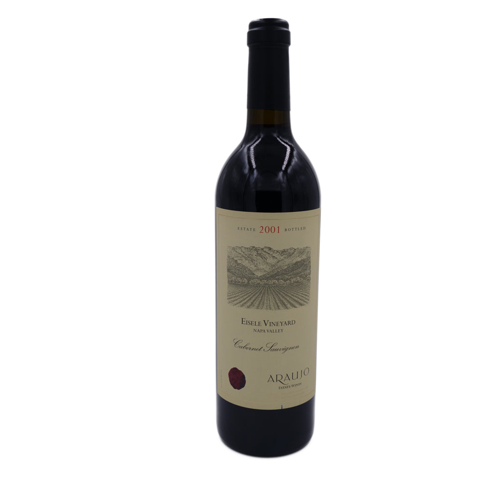 Araujo Estate Eisele Vineyard Cabernet Sauvignon 2001, Napa Valley (RP 99, WS 92) 750 ml