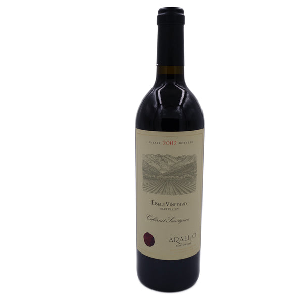 Araujo Estate Eisele Vineyard Cabernet Sauvignon 2002, Napa Valley (RP 99, WS 94) 750 ml