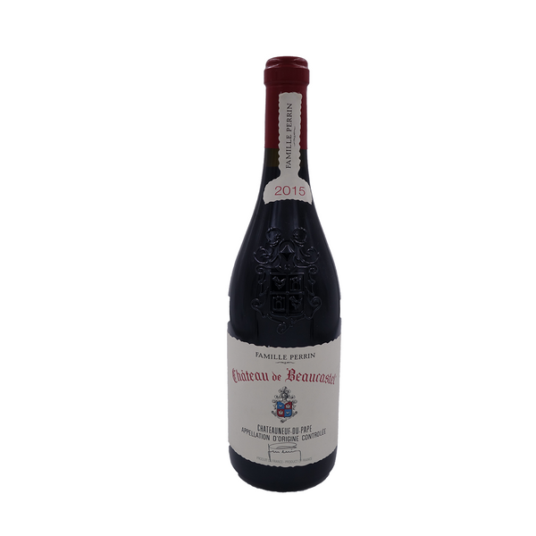 Chateau de Beaucastel Chateauneuf-du-Pape 2015, Rhone, France (WS 97, RP 96) 750 ml