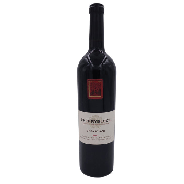 Sebastiani Vineyards Cherryblock Cabernet Sauvignon, Sonoma Valley 2013 (RP 98+) 750 ML