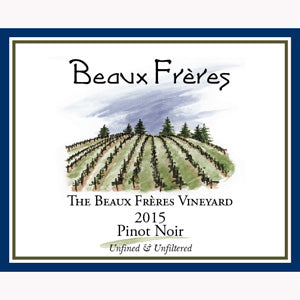 Beaux Freres The Upper Terrace Pinot Noir 2015, Ribbon Ridge, WA (RP 96, WS 95) 750 ml