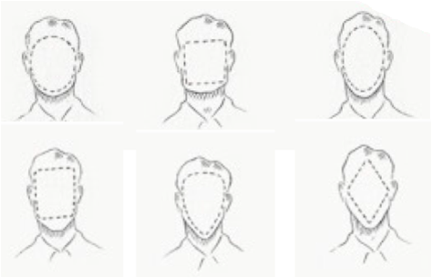 HAIRSTYLES AND FACE SHAPES