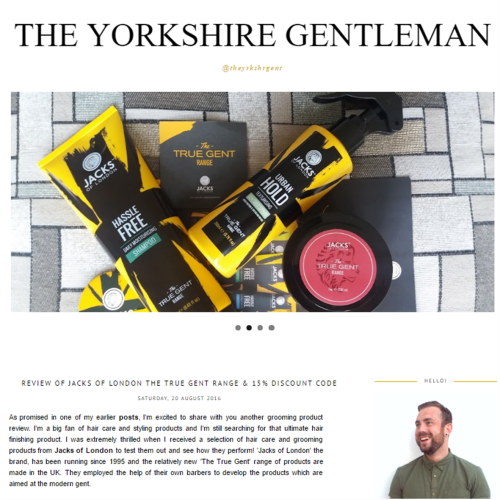 The 'Yorkshire Gent' Takes On The 'True Gent'