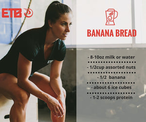 Banana Bread Protein Smoothie