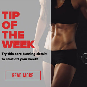 Fitness Tip of the Week- Try this core exercise