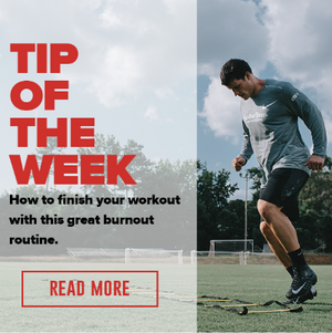 Fitness Tip of the Week: Finish your workout with this great burnout routine.