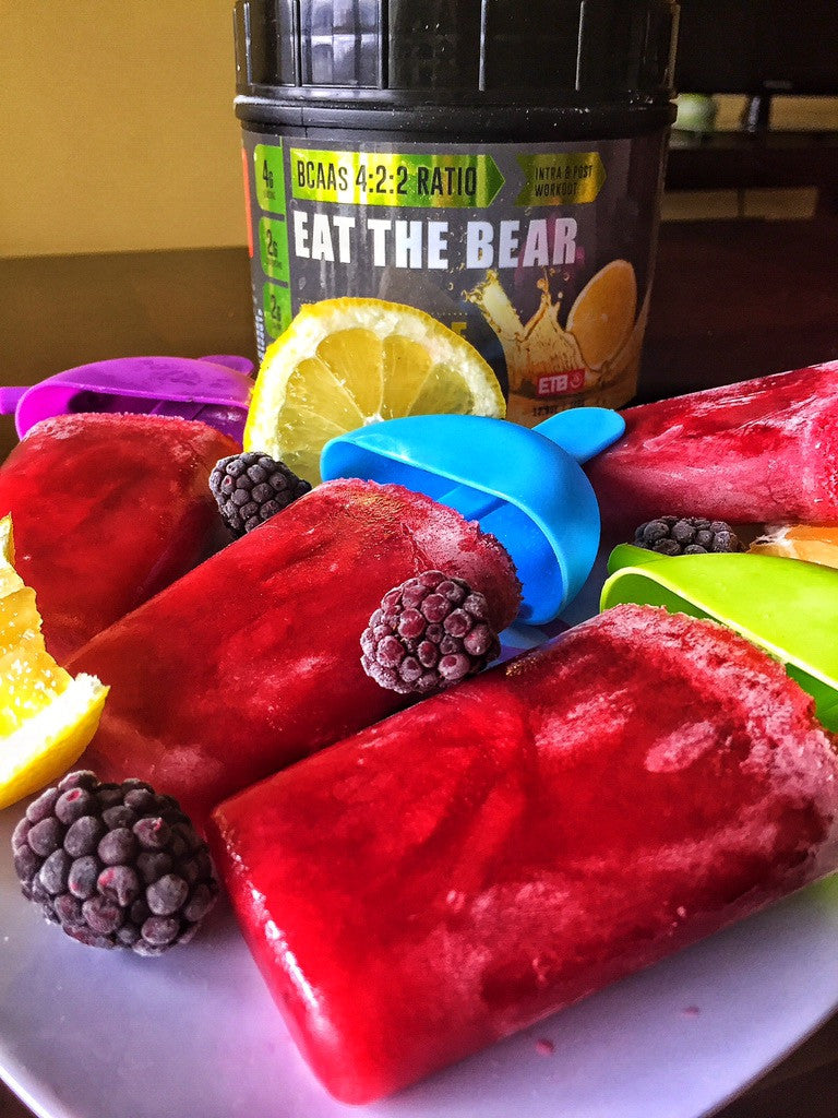Amino Fruit Pops Recipe