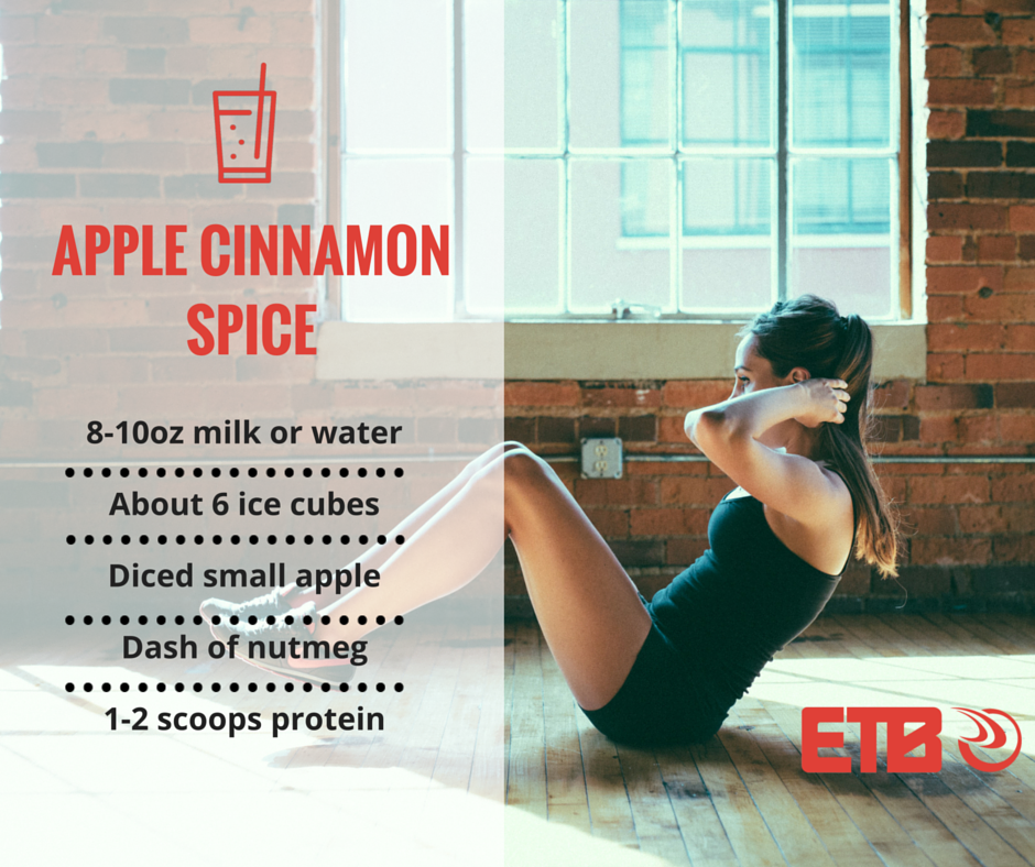 Apple Cinnamon Spice Smoothie