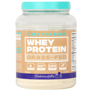 Isolate & Grass-Fed Whey Protein