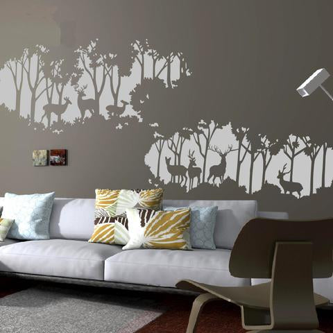 Deer Forest Wall Decals; Deer Forest Wall Decals ...