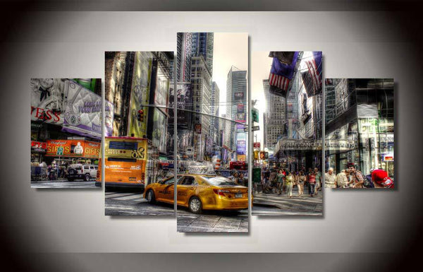 HD Printed new york city Painting on canvas room decoration print poster picture canvas framed Free shipping/ny-1314