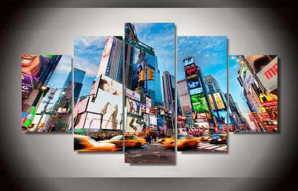 HD Printed new york city Painting on canvas room decoration print poster picture canvas framed Free shipping/ny-1315