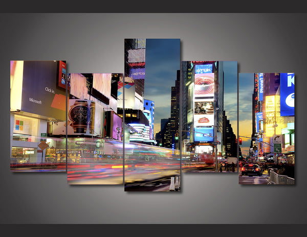 HD Printed times square new york Painting Canvas Print room decor print poster picture canvas Free shipping/ny-3010