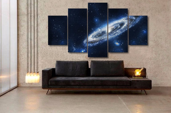 HD Printed Fantasy universe Planet Painting Canvas Print room decor print poster picture canvas Free shipping/ny-5767