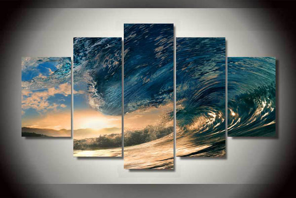 HD Printed tropical paradise ocean sea Painting Canvas Print room decor print poster picture canvas Free shipping/ny-1490