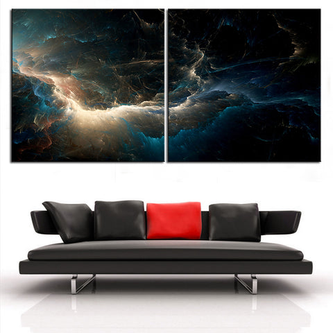 Large size 2pcs/set Print Oil Painting Wall painting NO2SET-12 Home Decorative Wall Art Picture For Living Room paintng No Frame
