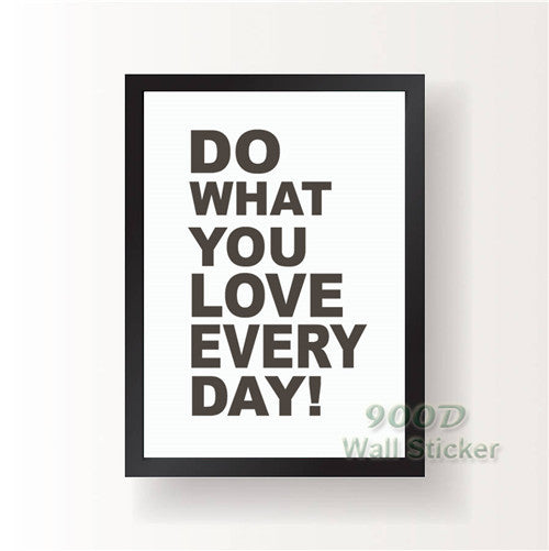Quote Canvas Painting Poster, Wall Pictures For child Room Home Decoration Print On Canvas, Frame not include FA001