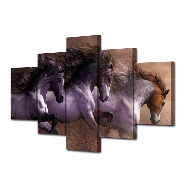 HD Printed Animal horse Painting Canvas Print room decor print poster picture canvas Free shipping/NY-5864