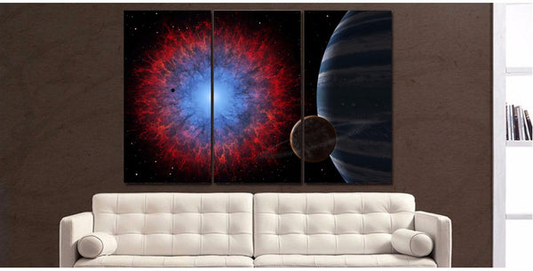HD Printed Space Universe Painting Canvas Print room decor print poster picture canvas Free shipping/ny-5850