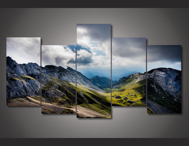 HD Printed mount pilatus switzerland picture Painting wall art room decor print poster picture canvas Free shipping/ny-877