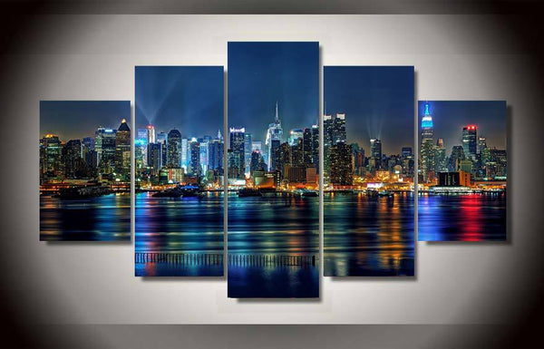HD Printed new york city Painting on canvas room decoration print poster picture canvas framed Free shipping/ny-1316