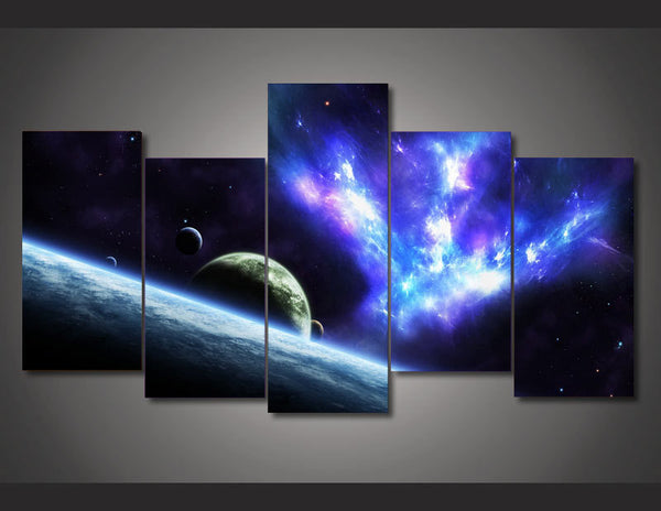 HD Printed Stars universe space Painting on canvas room decoration print poster picture canvas Free shipping/ny-1708