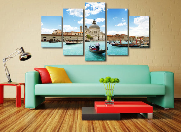 HD Printed basilica di santa maria della Painting Canvas Print room decor print poster picture canvas Free shipping/ny-4369
