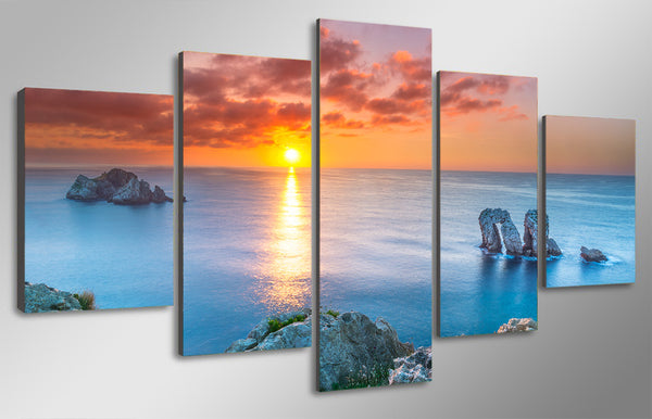 HD Printed cantabria spain bay of biscay Painting Canvas Print room decor print poster picture canvas Free shipping/ny-4985
