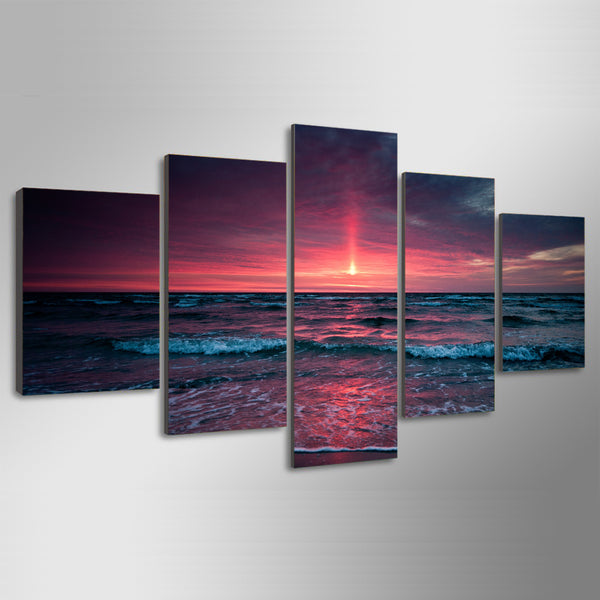 HD Printed beach sea Group Painting Canvas Print room decor print poster picture canvas Free shipping/ny-389