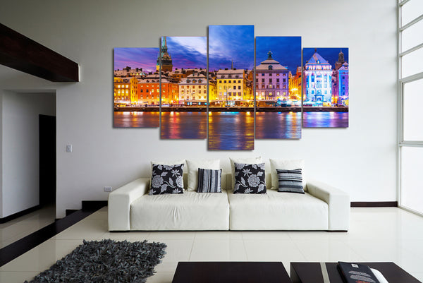 HD Printed stockholm sweden Painting Canvas Print room decor print poster picture canvas Free shipping/ny-2138