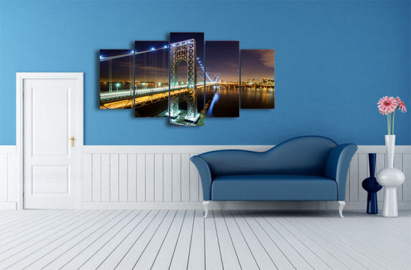 HD Printed new york city nyc usa george Painting on canvas room decoration print poster picture canvas Free shipping/ny-2253