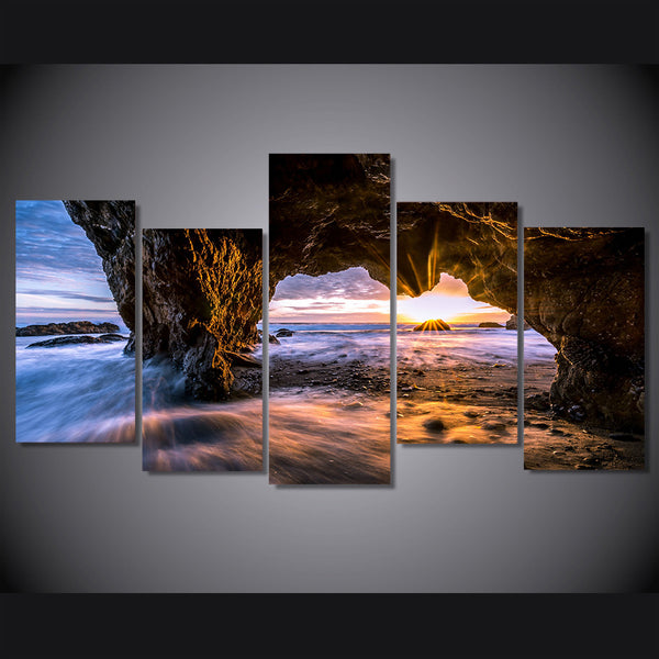 HD Printed el matador state beach picture Painting wall art room decor print poster picture canvas Free shipping/ny-865