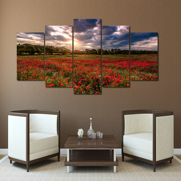 HD Printed Nature Flower Group Painting Canvas Print room decor print poster picture canvas Free shipping/ny-1542