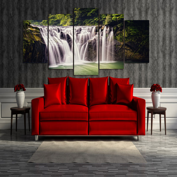 HD Printed Natural water falls Painting on canvas room decoration print poster picture canvas Free shipping/ny-1785