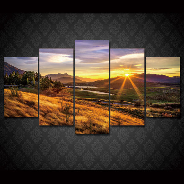 HD Printed nature sunset Painting on canvas room decoration print poster picture canvas Free shipping/ny-1418
