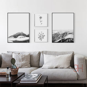 Nordic Style Landscape Canvas Art Print Painting Poster, Wall Pictures for Home Decoration, Wall Decor NOR003