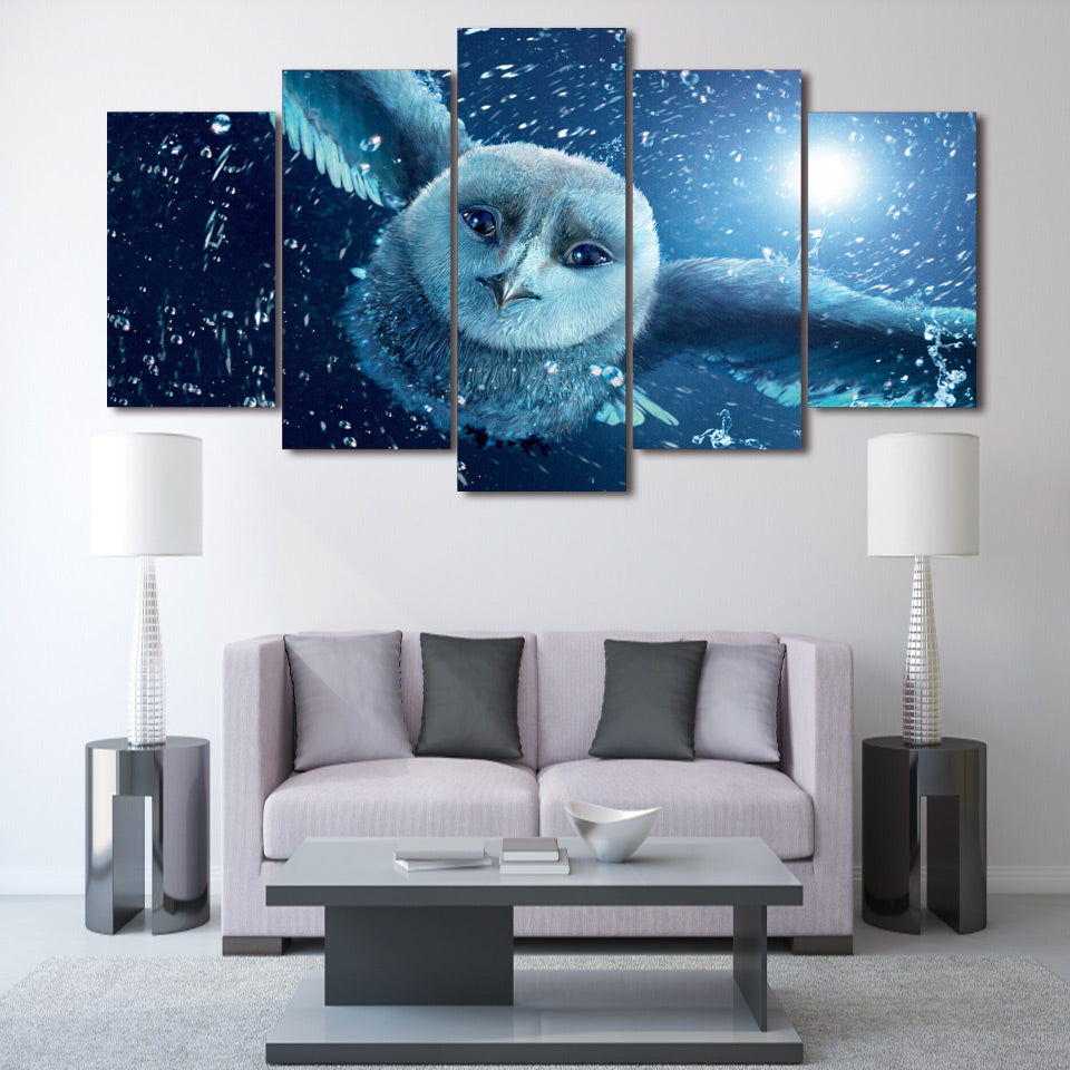 HD Printed Owl Group Painting room decor print poster picture canvas decoration Free shipping/ma-057